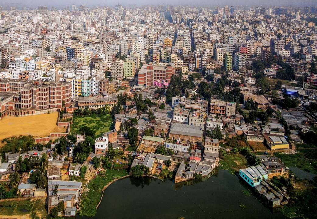 Photo of the Dhaka, Bangladesh skyline
