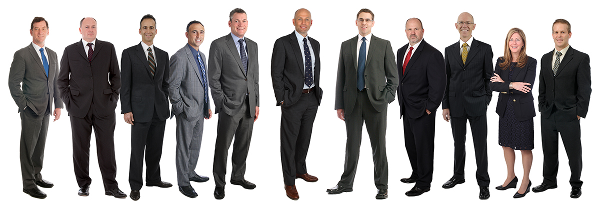 Heads of investment teams (left to right): Robert Beauregard, Tim Bray, Martin Gerber, Kevin Leon, Matt O'Brien, Jeff Guise, Adam Posman, Lloyd E. Rowlett, Harold Scheer, Tanya Taggart, Jeff Wigle